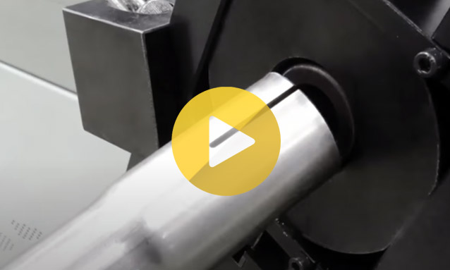 Conformadoras de Extremos- Acopolador de tubo de exaustão MB60-3