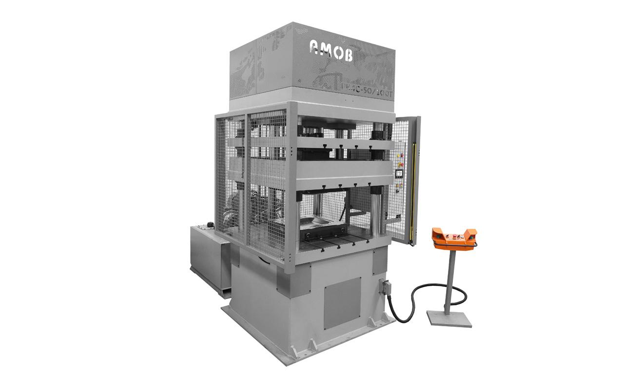 Four-Columns-Hydraulic-Press-PH4C-50-100T-