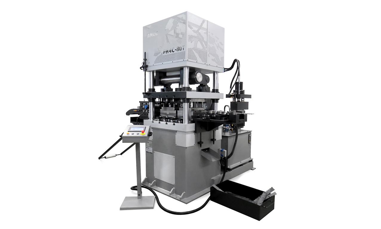 Four-Columns-Hydraulic-Press-PH4C 80T