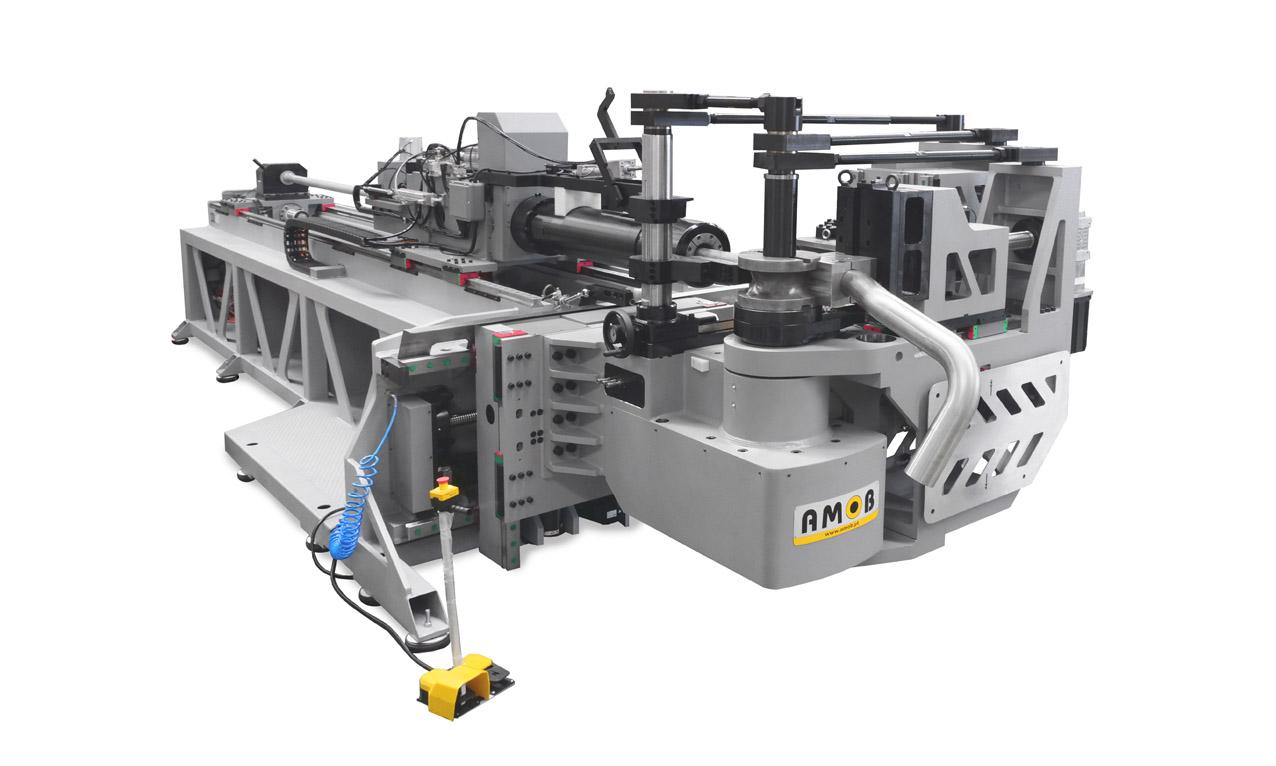 Fully-electric-cnc-tube bender-eMOB130