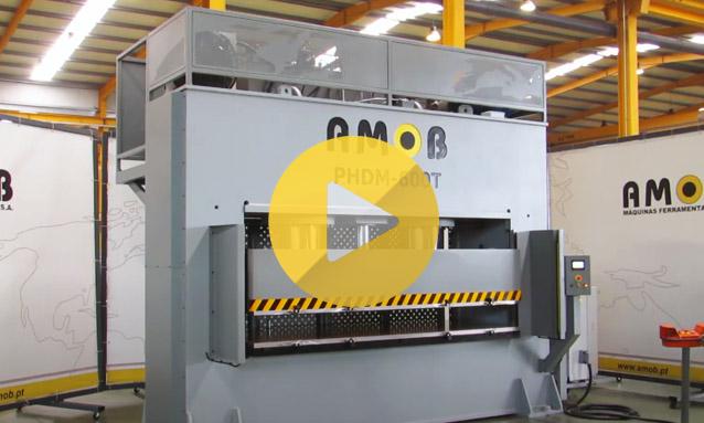 H Frame Hydraulic Press – PHDM600T
