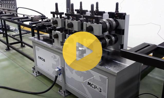 Perfiladora – Linhas de Perfilagem – MCP 3 Máquina de acopolar