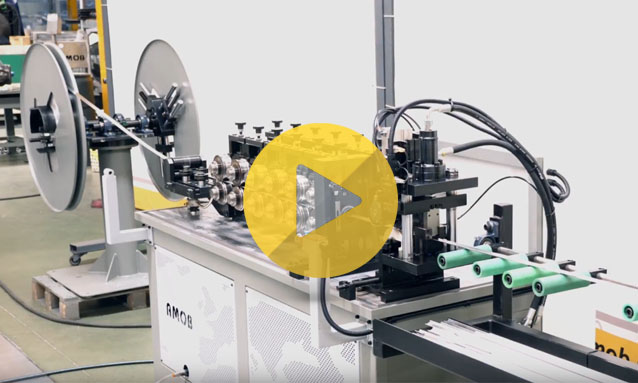 ROLL FORMING – Double Decoiler with Orbital Rotation – PF SERIES