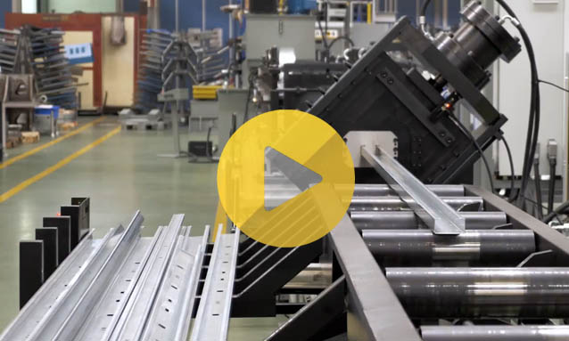Roll Forming – Solar Panel Structures
