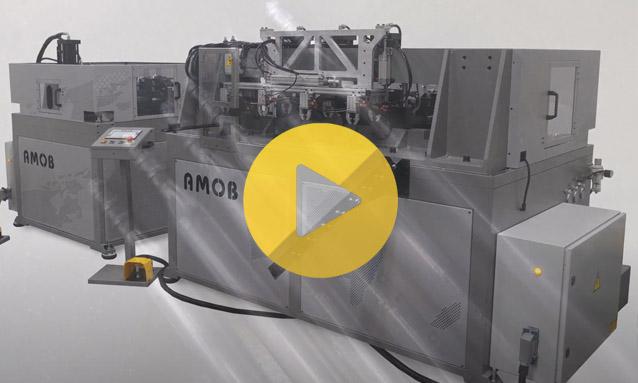 Tube End Forming Machine MB30-3 TRIPLE HEAD