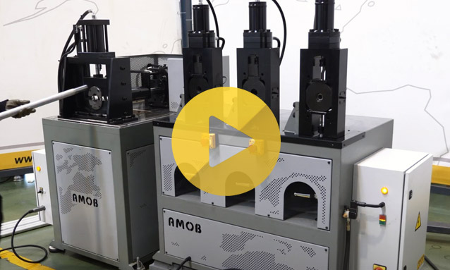 Tube End Forming Machine – MB60-1 Store Display with punching