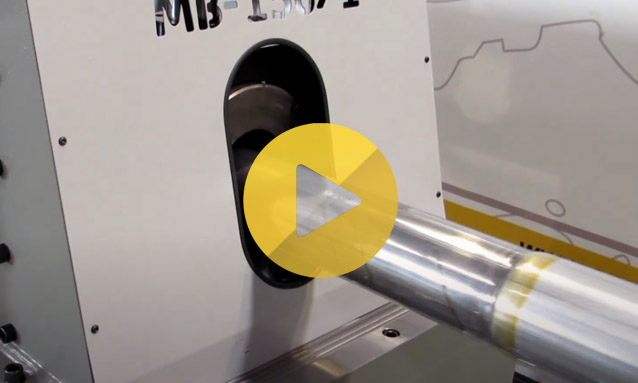 Tube End Forming Machine – Street lamps and traffic lights pipe end forming MB150-1