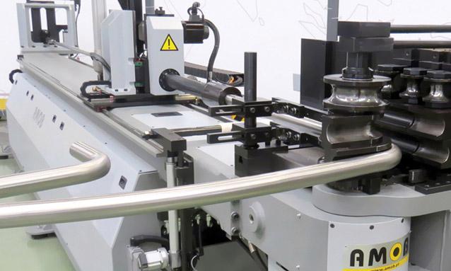 curvadoras de tubo CNC elétricas -Fixo-Variavel