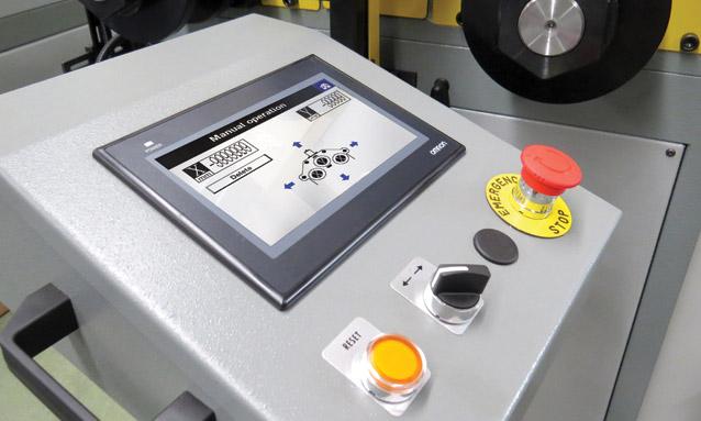 máquina-de-arquear-perfis-cnc-controlador