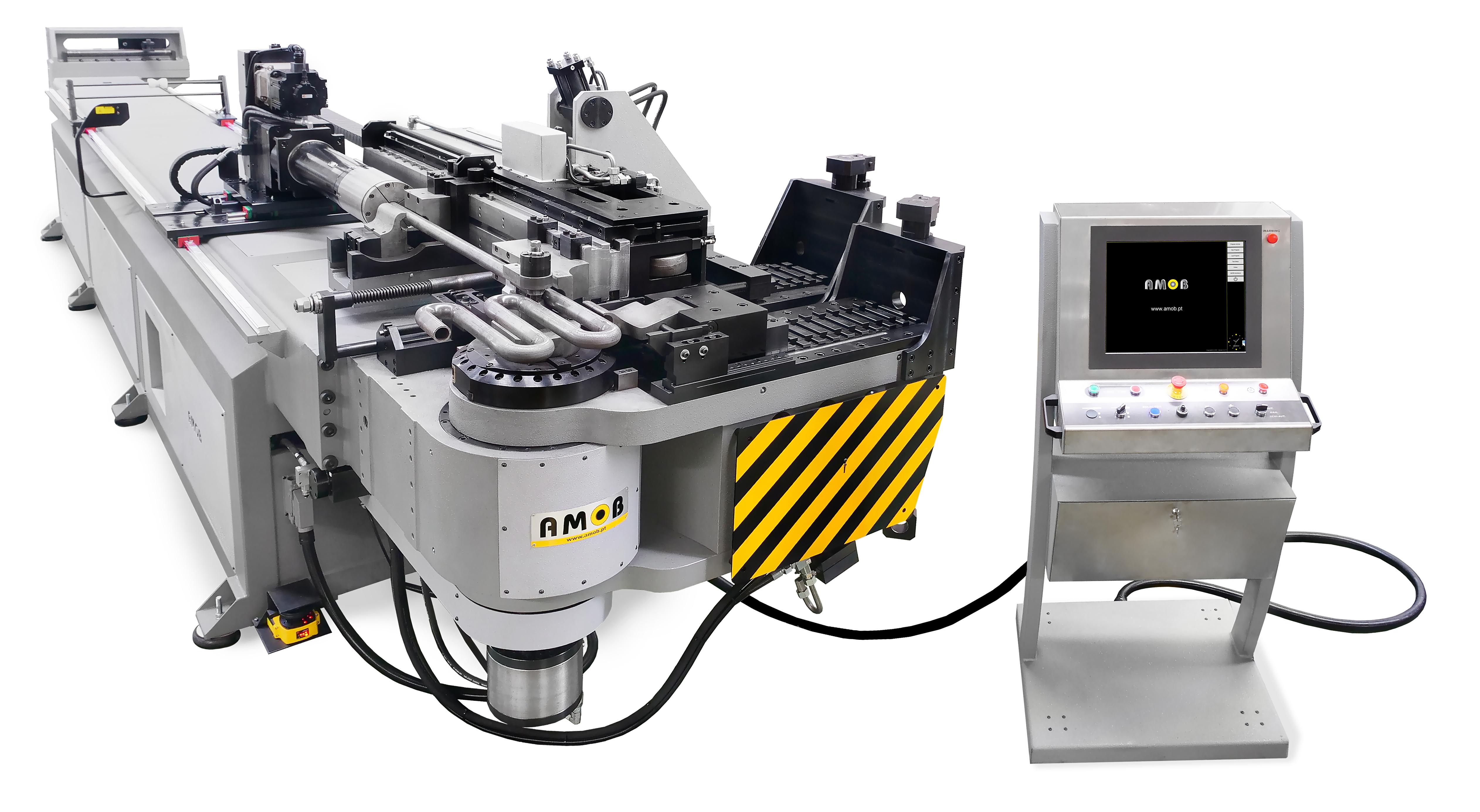 máquinas de curvar tubo booster CNC-CH120Booster_LR-1