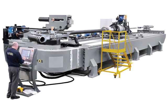 máquinas de curvar tubo booster CNC-CH320CNC-B