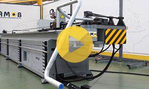 High Pressure Hydraulic Pipelines CNC Pipe Bender
