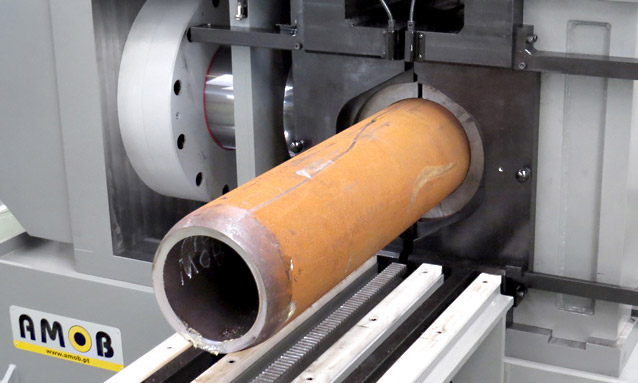 Image of One of the heaviest duty end formers on the planet