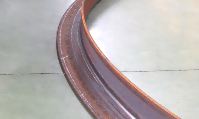 Image of Angle bending rolls L Profile