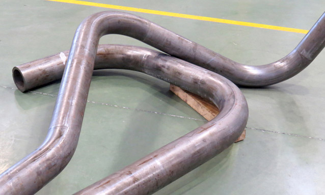 Image of heavy duty pipe bending for Boiler and power plants