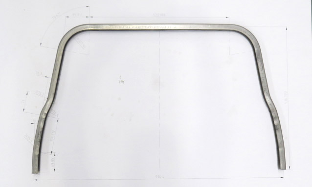 Image of CNC Tube bending for Automotive components