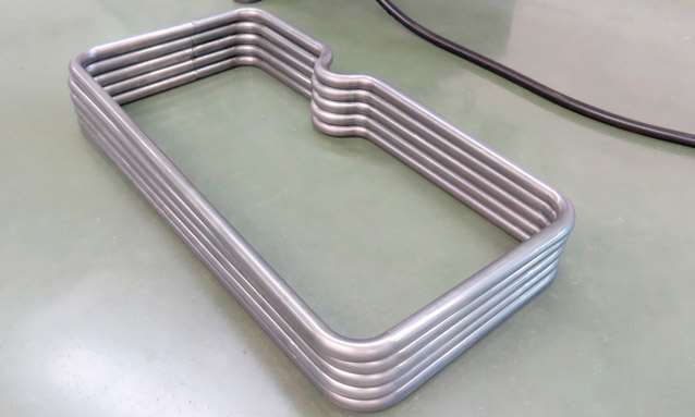 Image of CNC tube bending for Car seat frames