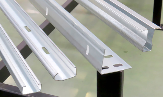 Image of Garage door roll forming lines for Construction sector