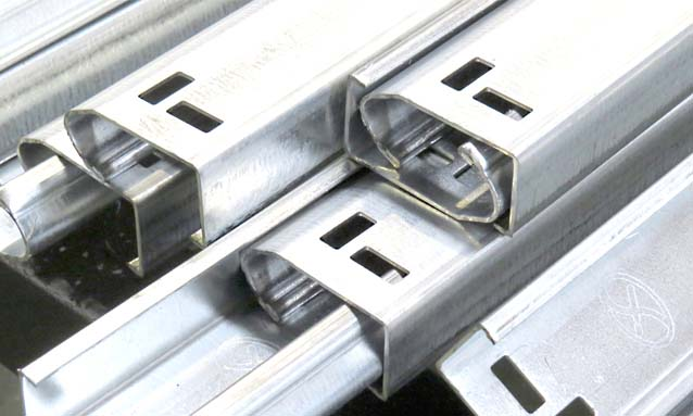 Image of J-profile-garage-door-tracks-roll-forming-line
