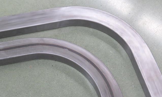 Image of CNC rectangular tube bending for Metallic furniture