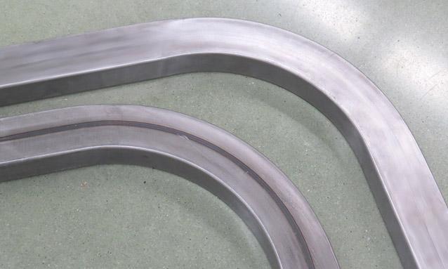 Image of CNC rectangular tube bending for Metallic furniture