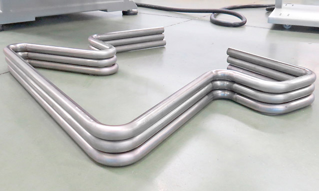 Image of CNC Tube bending machine for Metallic furniture