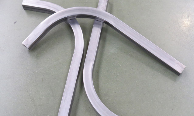 Image of Rectangular tube bending for Metallic furniture