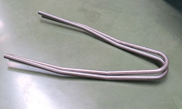 Image of tube bending for Metallic furniture
