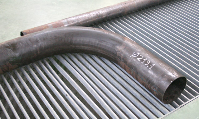 Image of CNC Heavy duty pipe bending for Shipbuilding and offshore