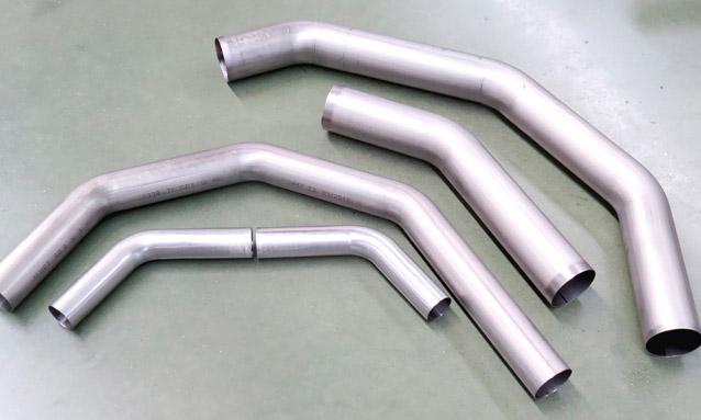 Image of Titanium inconel Aerospace NC tube bending