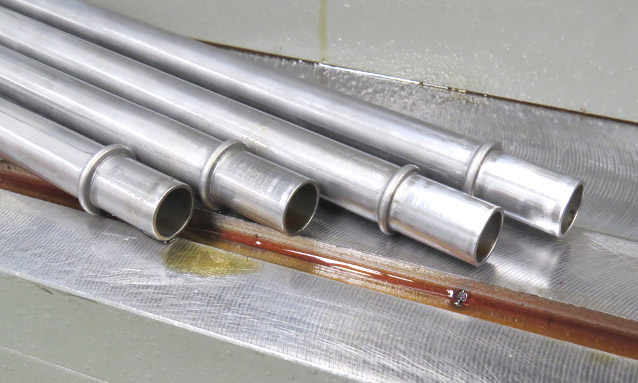 Image of Tube end forming for Automotive component