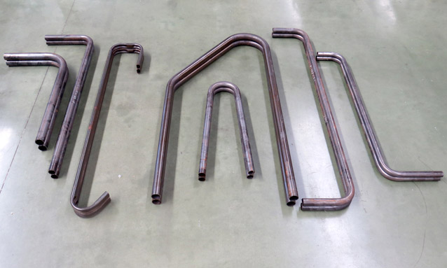 Image of pipe bending for Agricultural machinery