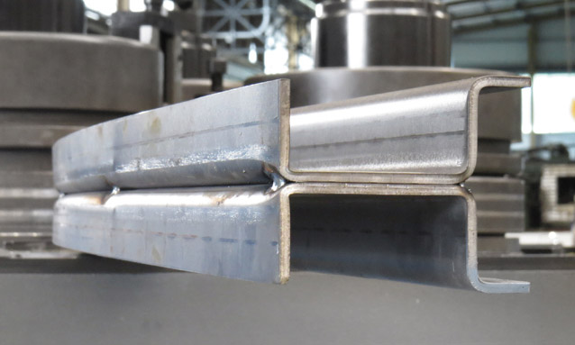 Image of Heavy duty section bending rolls special profile for Automotive assembling