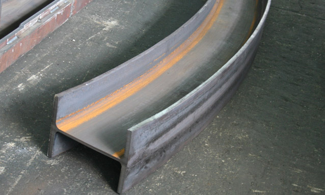 Image of Heavy duty section bending rolls for Metallic structures