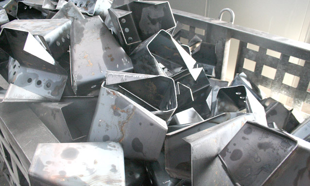 Image of Hydraulic press components for Metallic structures