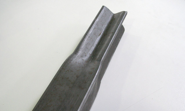 Image of Rectangular tube end forming for Metallic structures