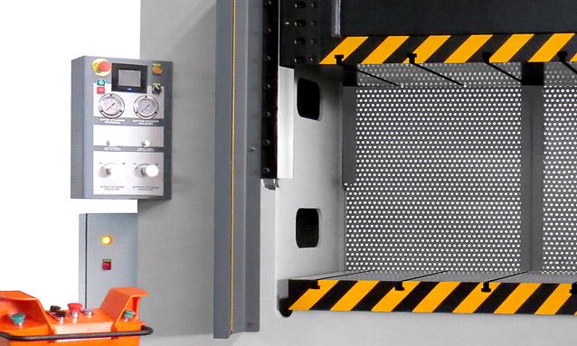 Image of H Frame Hydraulic Press - PHDM Series - PHDM - Closed frame