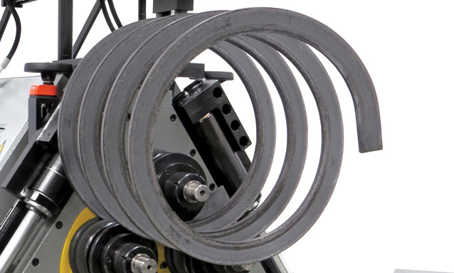 Image of Angle Rolls - MAH-AC Series - Spiral