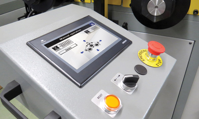 Image of CNC Roll Bender - MAH-CNC Series - Controller