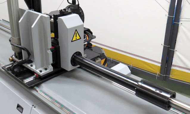 Image of Electric CNC tube bending machine POB