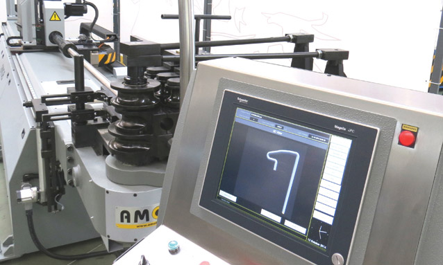 Image of Electric CNC tube bending machine software