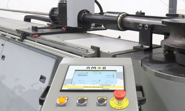 Image of Electric NC tube bending machine controller