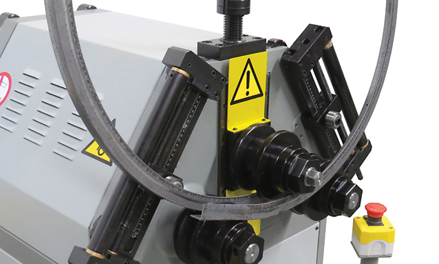 Image of Manual Roll Bender - MAM Series - MAM50/2 Special angle rolls