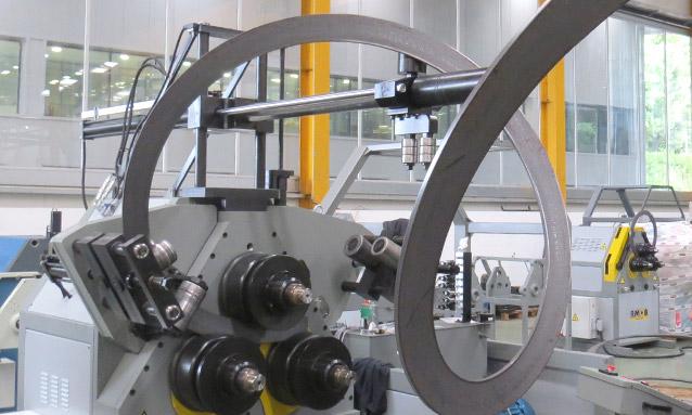 Image of Angle Rolls - MAH-AC Series - Power plants flat bar spiral bending