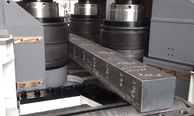 Image of Section bending rolls MAH1000