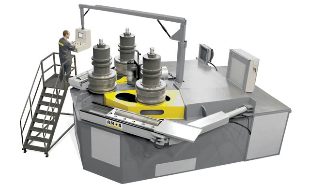 Image of Section Bending Machine - MAH-AC Series - MAH600