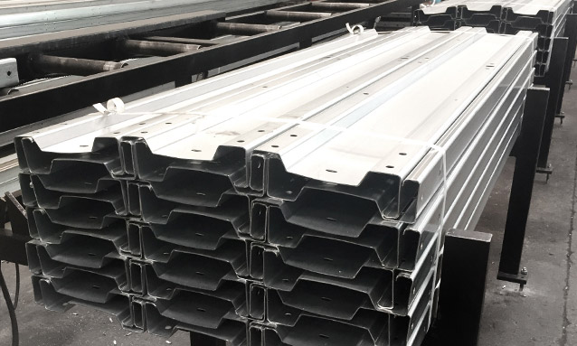 Image of Sigma profile roll forming machine