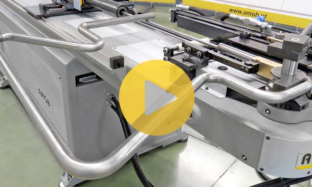 Watch the CNC tube bender CH35CNC