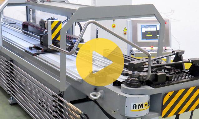 Watch the CNC tube bender CH60CNC