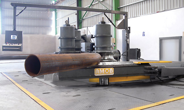 Image of Heavy duty section bending rolls